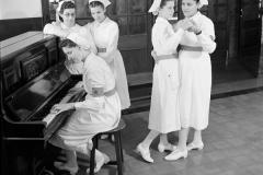 Trainee Nurses. Bombay, Early 1940s