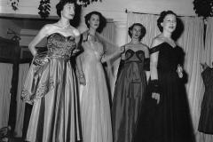 A fashion show at the British High Commission. Delhi, 1960s