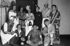 Fancy dress party at the Delhi gymkhana club. 1950s